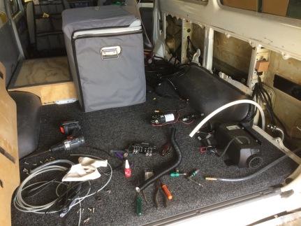 heater pump fitting
