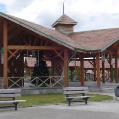 The centre square of Villa O'Higgins
