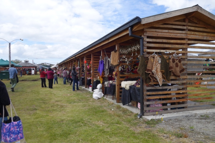 Woolen products make up 95% of local handycrafts