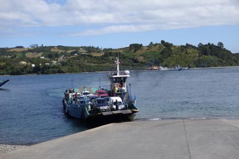 Ferry across to Quinchao