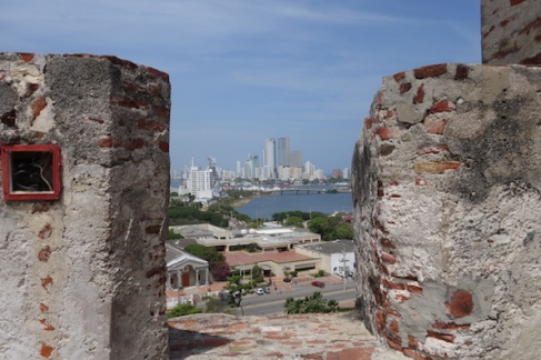 The Fort that protected Cartagena from those pesky pirates.