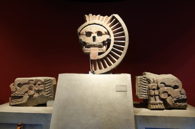 Awesome stone sculptures from Teotihuacan.