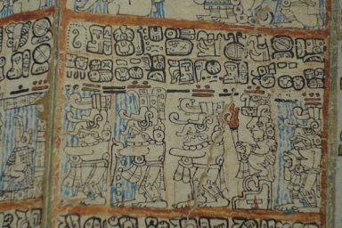 The Mayans had a written language similar to the Egyptians.