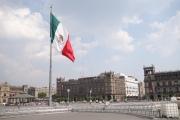 The Plaza de la Constitution or Zocolo.