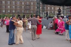 Salsa in the zocolo.