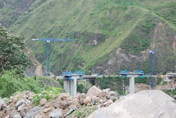 In mountainous country all engineering projects are major undertakings!
