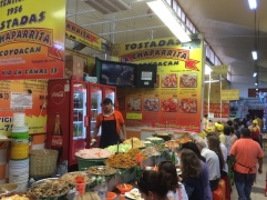 Coyoacan markets are famous for Tostadas.