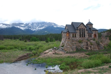 Presumably a church - or fairytale cottage.