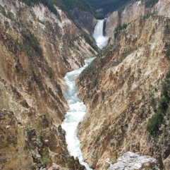 The Lower Falls and gorge