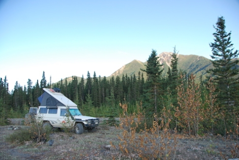 Campground was a bit rough, but the views ...