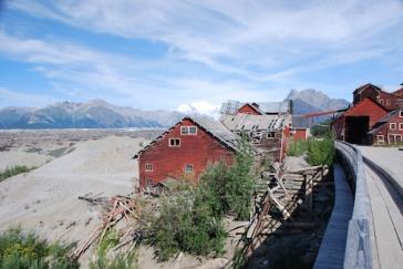 Mining next to a glacier!!
