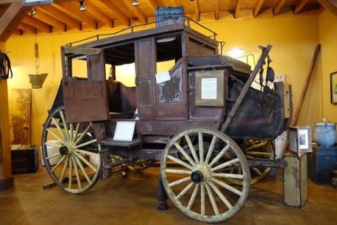 The Carriage Museum at Raymond - beautifully restored carriages, wagons and sleighs.